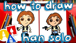 How To Draw Han Solo