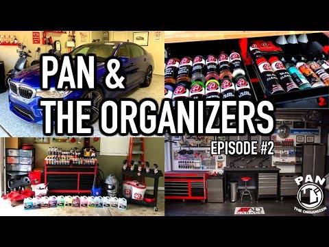 My Viewers' Detailing Setups! Pan & The Organizers Episode #2