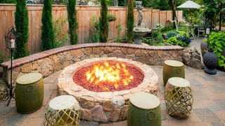 Gambar cover 28 Cool Fire Pit Ideas - Outdoor Fire Pit Design