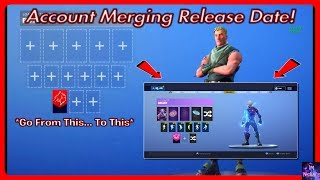 Account Merging RELEASE DATE! *Delayed* | Fortnite Battle Royale