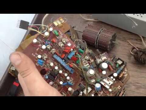 Много ценных радиодеталей со свалки.