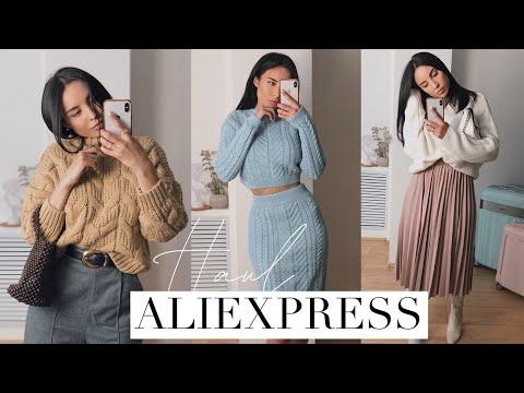 ПОКУПКИ ОДЕЖДЫ С ALIEXPRESS | ОСЕНЬ-ЗИМА 19/20 HAUL