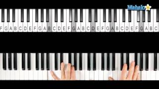 How to Play a G Major 7 (Gmaj7) Chord on Piano