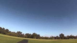 Updated flight review of E flite Seafury