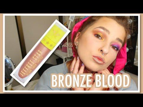 Bronze Blood Lipstick Review   Jeffree Star Single Lipstick Review   Cerise1307   thumbnail