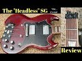 """The Gibson """"Headless SG"""" is Real!   See the Meme Up-Close For the First Time    Review + Demo"""