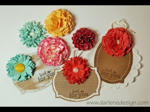 How to make paper flowers youtube how to make paper flowers mightylinksfo