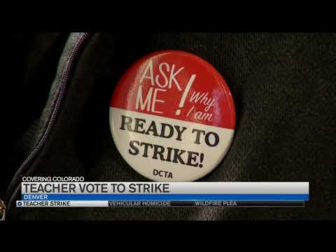 The Latest: Request for help delays Denver teachers' strike