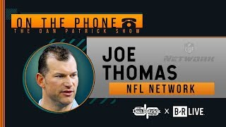 NFL Network's Joe Thomas Talks MVP, Browns, & Replay with Dan Patrick | Full Interview | 10/15/19