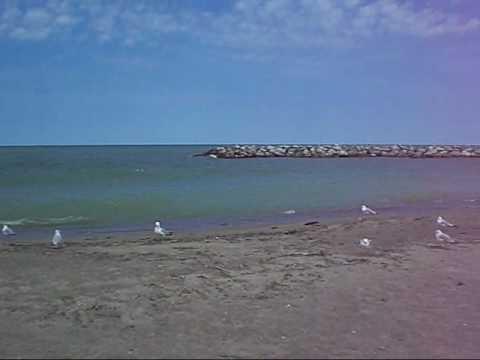Presque Isle Beach Lake Erie Pennsylvania