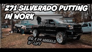 "CAN MY LIFTED Z71 SILVERADO ON 26X14 AND A 9"" LIFT STILL TOW??"