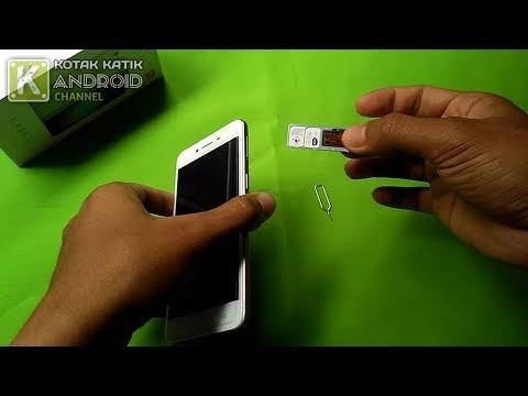 Cara Membuka Slot Kartu SIM Pada HP OPPO A37