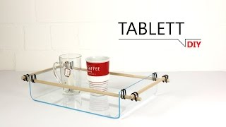 DIY - Tablett /// DIY-THAT