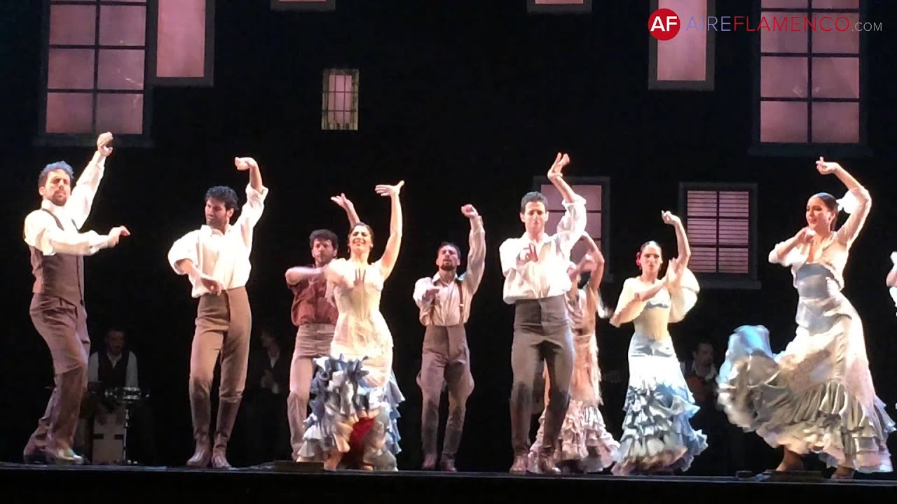 Baile Flamenco Ballet Nacional De España Por Bulerías Youtube