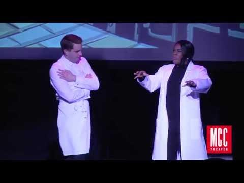 """Ben Platt and Uzo Aduba sing """"A Little Priest"""" From Sweeney Todd"""