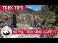 Safety on the Everest Base Camp Trek - Avoid Danger! | Trek Tips