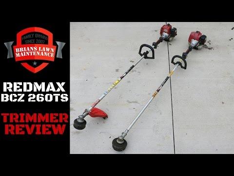 Equipment Review: RedMax BCZ260TS Trimmer