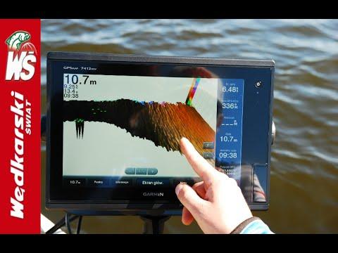 Amatorski test echosondy fish finder doovi for Garmin panoptix ice fishing
