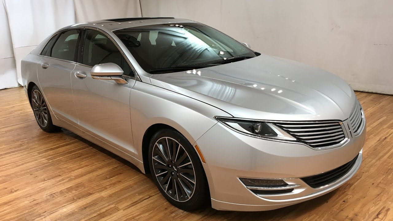 2013 Lincoln Mkz Awd Media Screen Sunroof Rear Cam Carvision Youtube