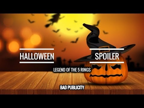 [Legend of the 5 Rings] Trick or Treat  -  Halloween Spoiler// Bad Publicity