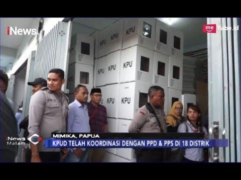 KPU Mimika Tegaskan Tak Gunakan Sistem Noken Saat Pemilu 2019 - INews Malam 13/02