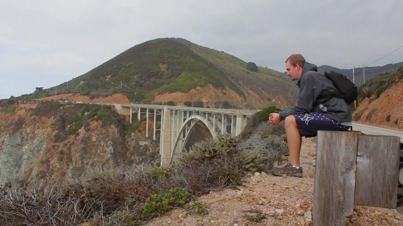 California Coast Bike Tour Big Sur San Simeon Goleta Reed Kd