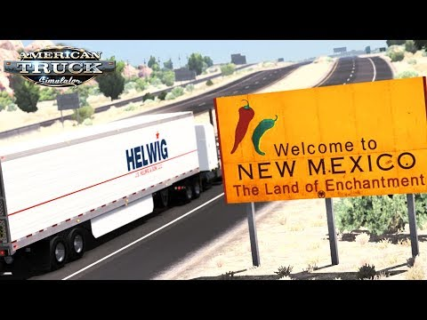 American Truck Simulator - Almost Missing New Mexico