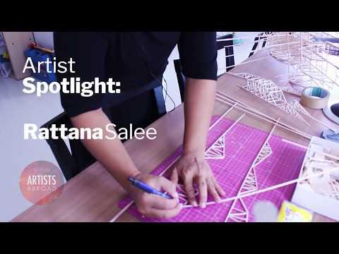 Rattana Salee: Massive Structures | Artists Abroad Spotlight on Thailand