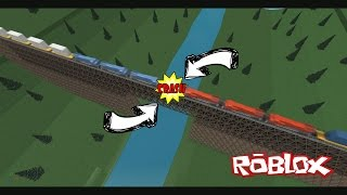 The Trestle (ROBLOX Bridge Train Crashes)