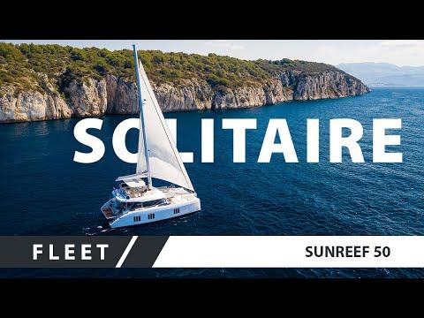 A head-spinning luxury sail catamaran Sunreef 50 Solitaire
