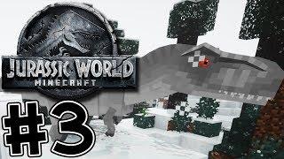 Minecraft Jurassic World 2 #3 BABY INDOMINUS FOUND!