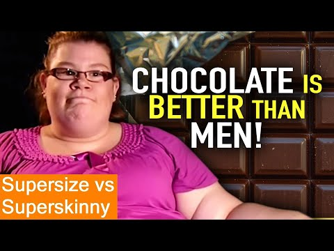 CHOCOLATE Beats MEN 🍫| Supersize Vs Superskinny | Weight Loss | Fresh Lifestyle