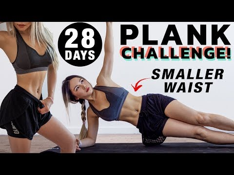 10 Min Plank Workout | 28 DAYS Plank Challenge