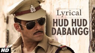 Hudd Hudd Dabangg Full Song  Dabangg | Lyrical Video | Salman Khan