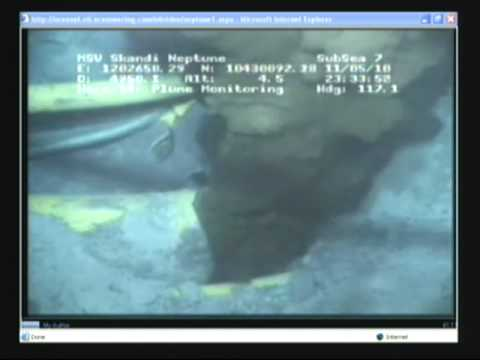 New Underwater Footage Of Bp Oil Leak At The Source