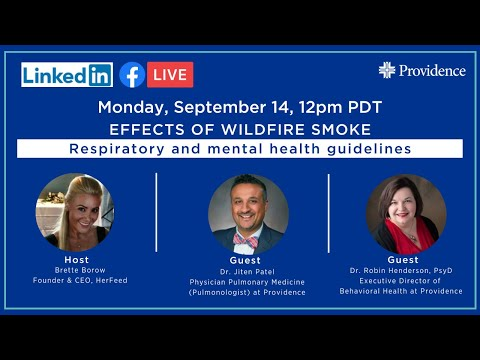 Effects of wildfire smoke: Respiratory and mental health guidelines