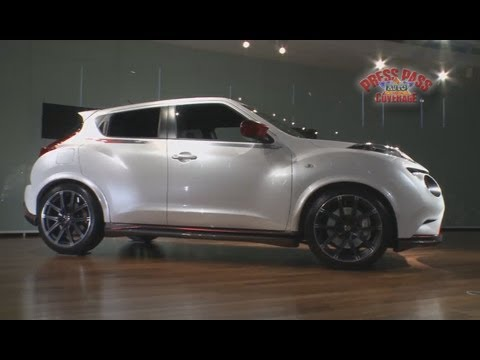 Nissan Juke Nismo Concept Unveiled At Tokyo Motor Show