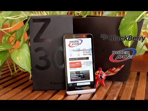 BlackBerry Z30 - Análisis en Español HD