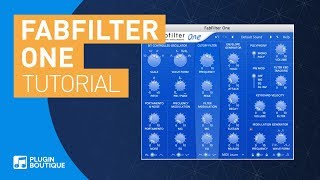 Fabfilter One Synth Tutorial | Chill Out Trip Hop Dirty Bass Patch