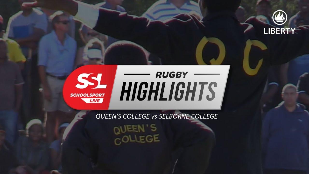 Highlights: Queen's College 1st XV vs Selborne College 1st XV, 21 April 2018