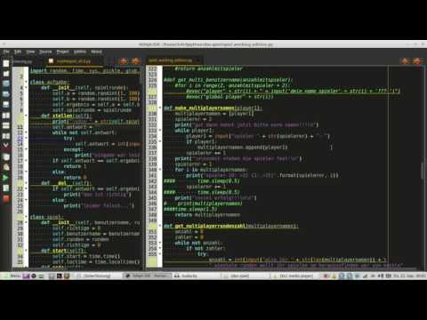 ich lerne python programmieren, man wächst an seinen aufgaben