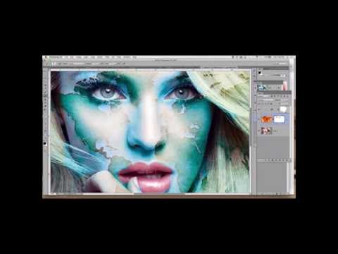 Photoshop advanced channels, modes, and smart objects - Limitless part 02