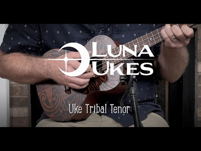 Luna Tribal Tenor Ukulele