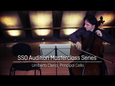 Cello Masterclass