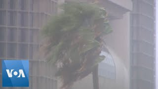 Hurricane Hanna Lashes Texas; Hawaii Braces for Douglas