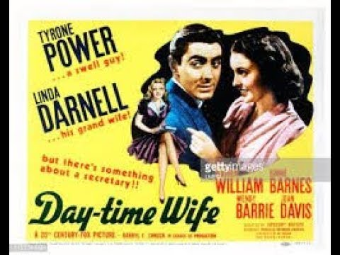 Day-Time Wife 1939 Full Movie