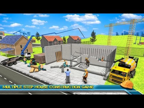 Modern Home Design & House Construction Games 3D Android Gameplay