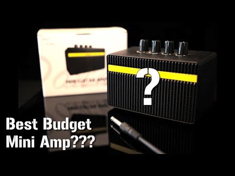 An AWESOME little practice amp for only $39 (Donner mini guitar amp review)