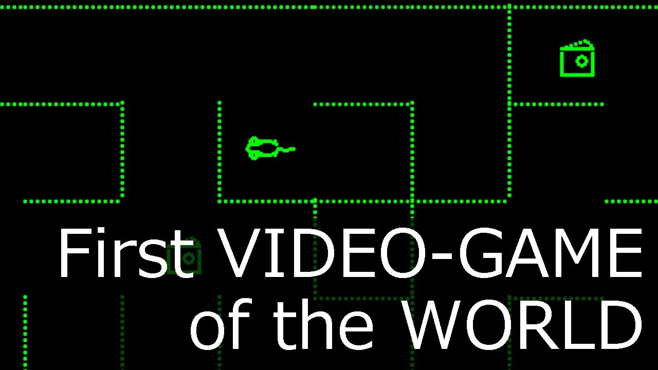 The First Video Game - YouTube