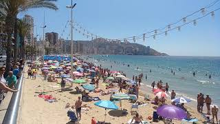 Benidorm playa de Levante